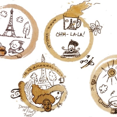Nescafe: Coffee Stain Doodles