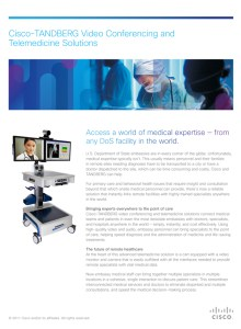 Cisco Telemedicine Flyer