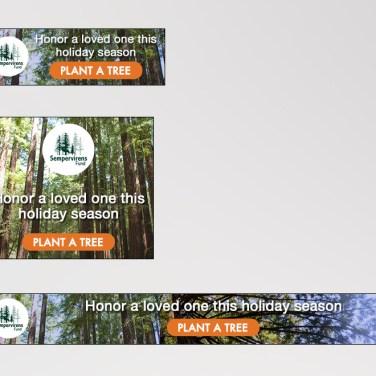 Sempervirens Fund Banner Ads