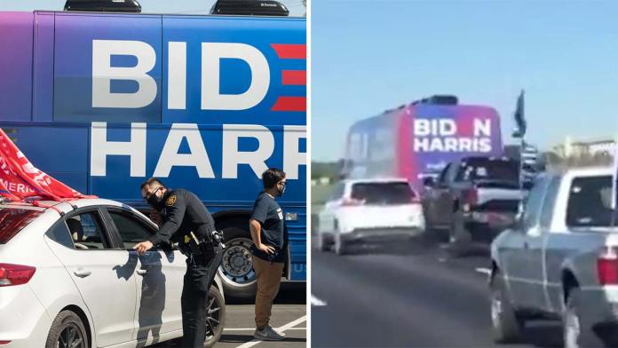 Did The Media Lie About The Biden Bus Interaction With Trump Trucks In Texas