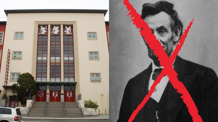 San Francisco Removes Abraham Lincoln From The Name of High School