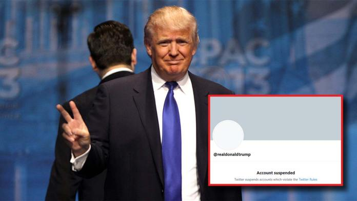 Trump Gets Banned From Twitter Due To Capitol Incident