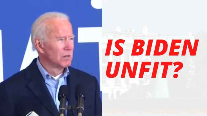 Half of Americans think Biden is Unfit for POTUS. Why are we surprised?