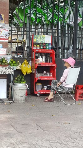 Street life in Ho Chi Minh City.