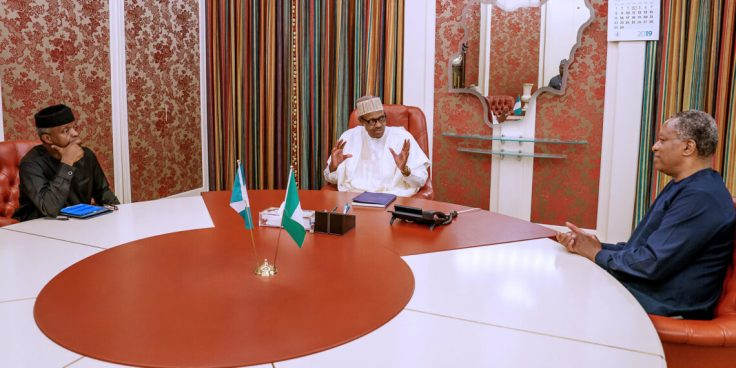 Pic.-6.-President-Buhari-meets-Osinbajo-and-Onyeama-in-Abuja-1-1140x570