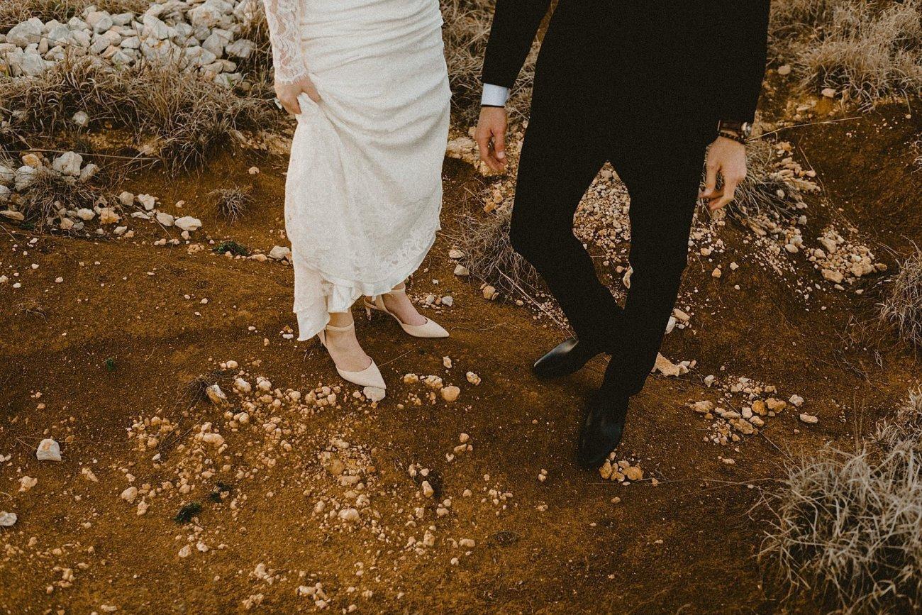 earthy texas wedding