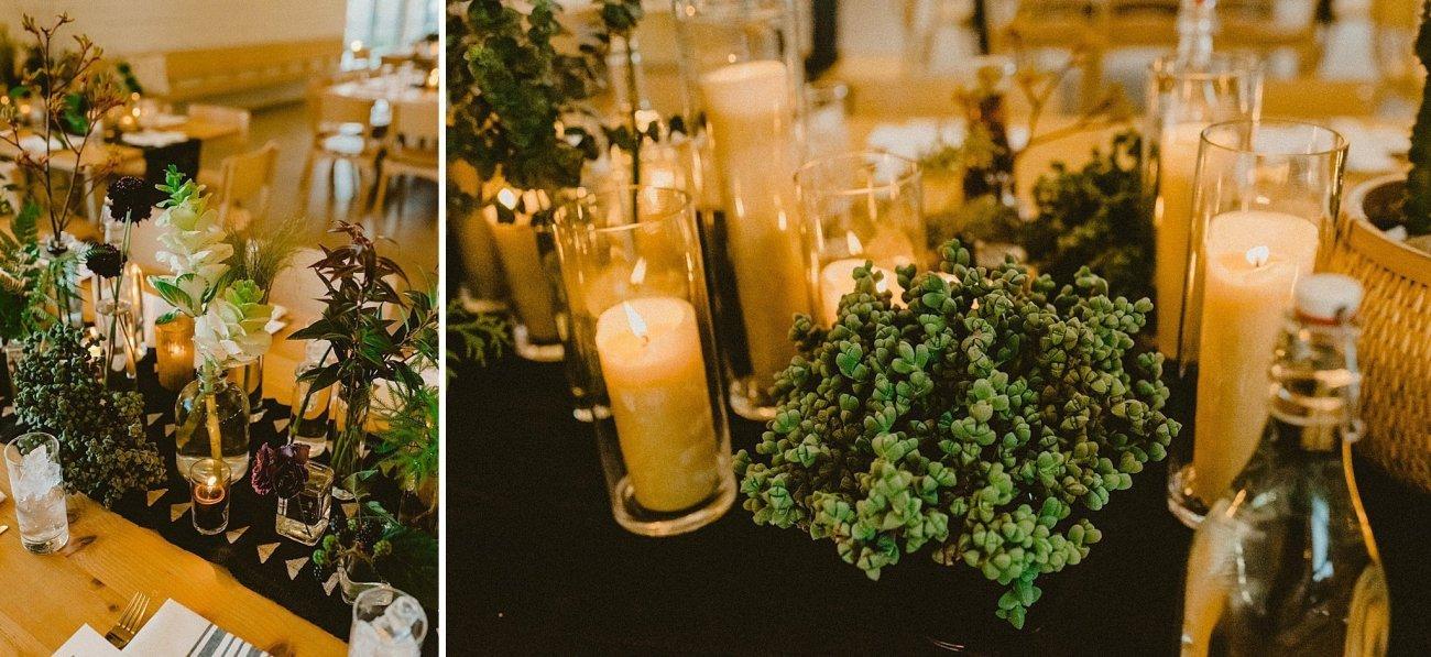 earthy wedding details