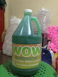 Wow Dishwashing Liquid