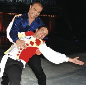 DOMI & MERCER: on ice tonight