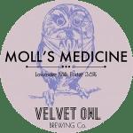 Velvet Owl Brewing Co, Moll's Medicine Lavender Milk Porter