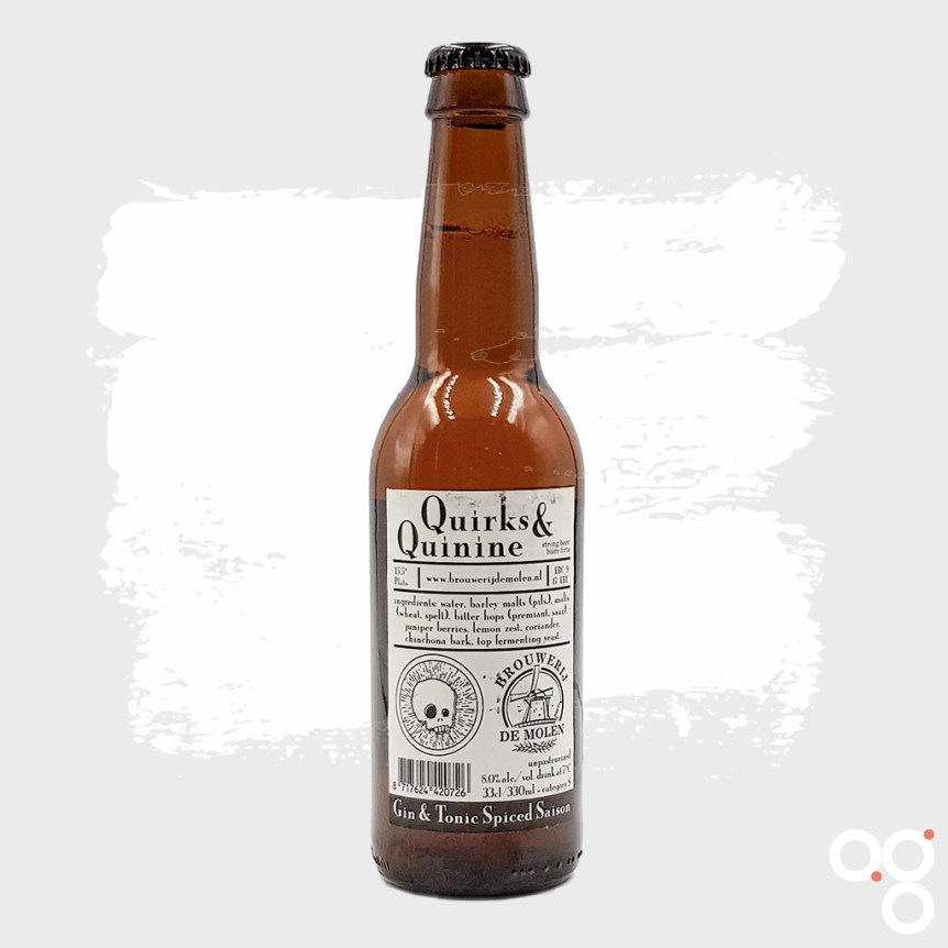Brouwerij de Molen x Beavertown, Quirks and Quinine