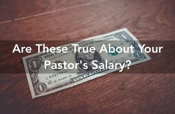 pastors salary