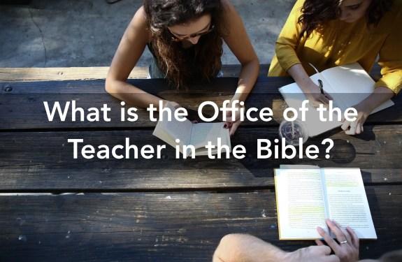 office of teacher