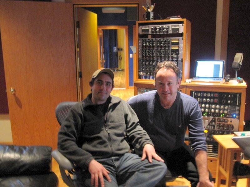 Anthony and Matthew Zimmerman at Wild Sound