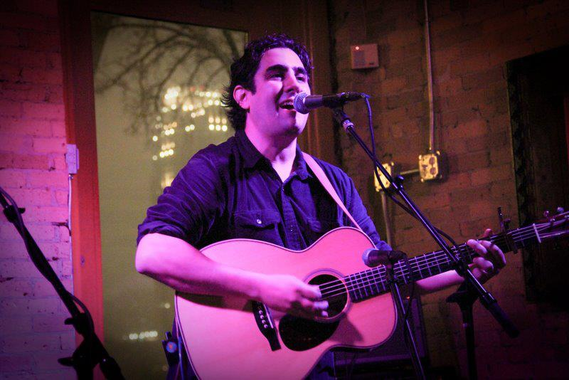 Anthony Ihrig live at the Aster Cafe in Mpls. - Photo by Jeff Rybacki