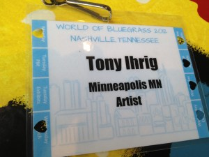 Anthony is selected for IBMA Songwriter Showcase