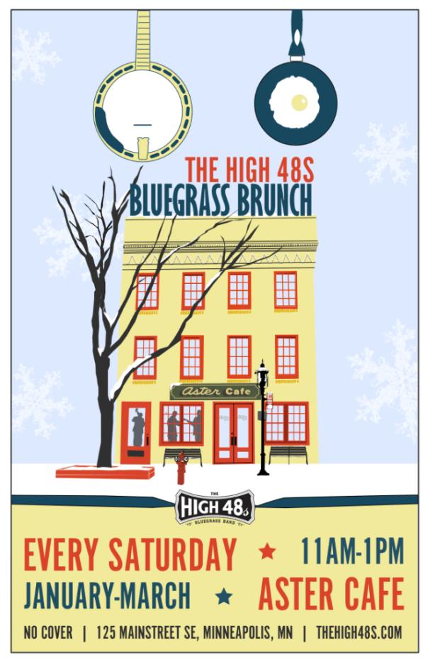 Aster Bluegrass Brunch 2015