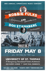 Robbie Fulks with the High 48s - May 8th 2015