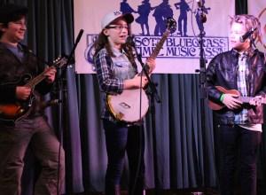 Young Student Telling Banjo Joke