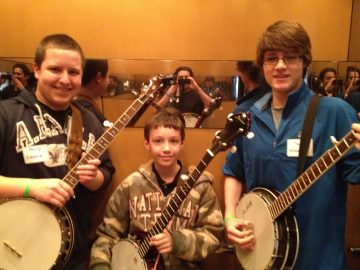 Grass Seeds Banjo Students