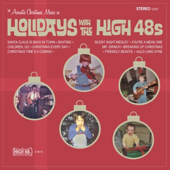 The High 48s - Holidays with The High 48s Album Cover