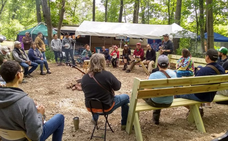 The Banjo Workshop at 2019 Blue Ox Music Festival