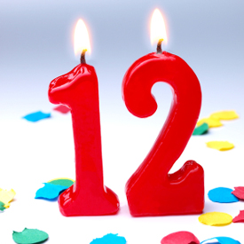 Blog 12th Birthday A Brief Reminder