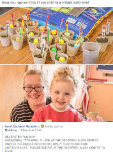 G52 Easter Fun Day Information