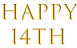 Blog 14th birthday / A brief reminder