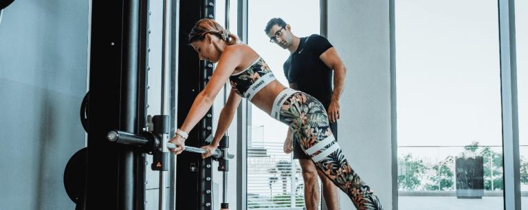 Ramona Bender training