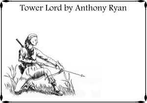 Tower Lord Bookplate unsigned
