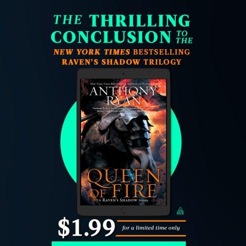 Queen of Fire – US Ebook Sale
