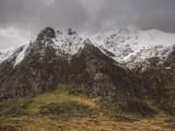 The east ridge of Y Garn