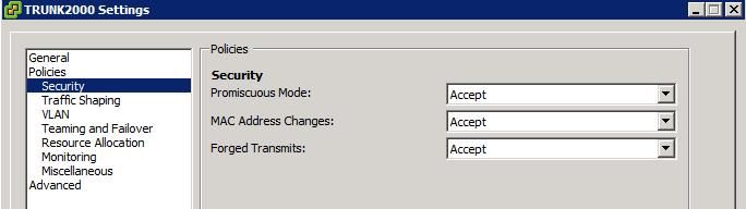 Nested ESXi - Reduced Network Throughput with Promiscuous Mode