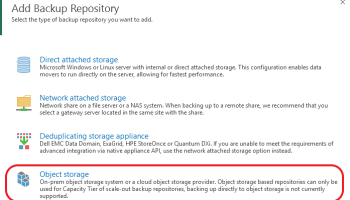 Disaster Recovery and Resiliency with Veeam Cloud Tier