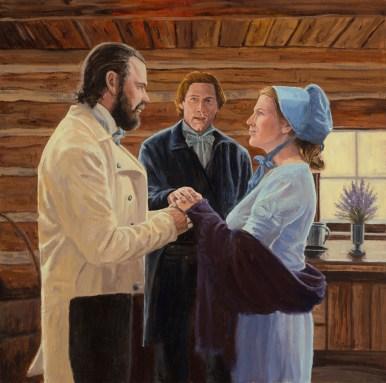 Eternal Marriage 22x22 ($1,750)