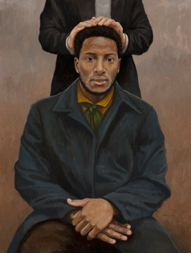 The Ordination of Q. Walker Lewis 24x32 ($2,500)