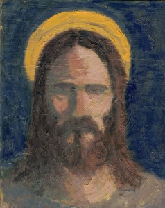 Man of Service Jesus Christ painting by Anthony Sweat
