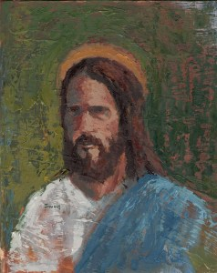 Man of Truth Jesus Christ painting by Anthony Sweat