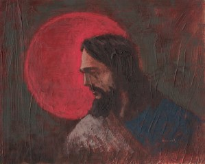 Sins of the World Jesus Christ painting by Anthony Sweat