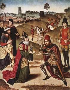Abraham und Melchisedek