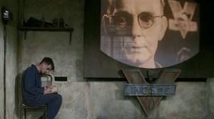 Big Brother in einer Verfilmung von Orwells 1984