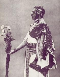 Samuel Liddell Mathers im zeremoniellen Ornat