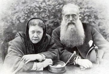 Blavatsky und Olcott, 1888