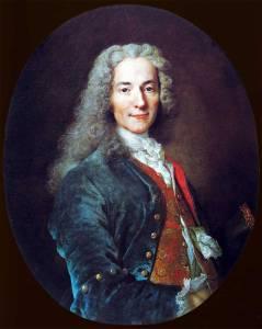 François Marie Arouet, genannt Voltaire, 1694-1778