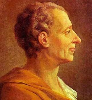 Baron de Montesquieu, 1689-1755