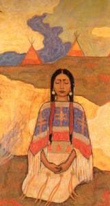 Frithjof Schuon, »Sitzende Frau«