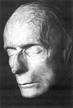 Totenmaske Rudolf Steiners, 1925