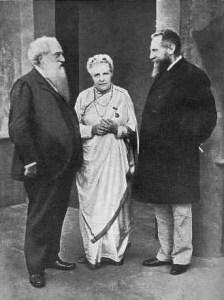 Olcott, Besant, Leadbeater, Adyar 1905