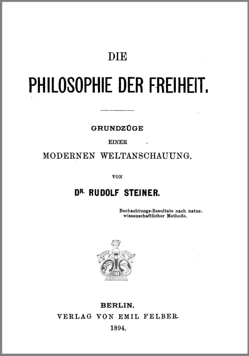 Der esoterische Schulungsweg der Anthroposophie im Frühwerk Rudolf Steiners – II